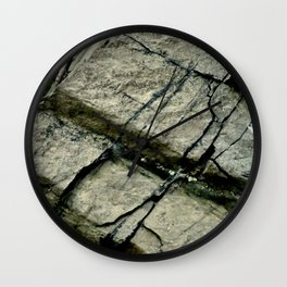 Rock Face Wall Wall Clock