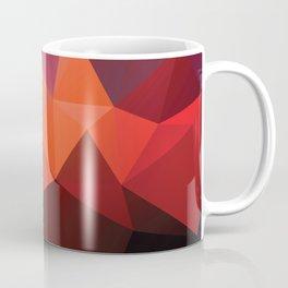 Abstract geometric triangle background Coffee Mug