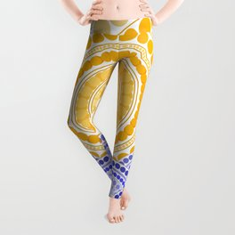 LIGHT OF DAWN (abstract tropical) Leggings