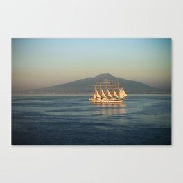 Sailing in Italy Canvas Print