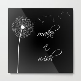 Make a wish - inverted Metal Print