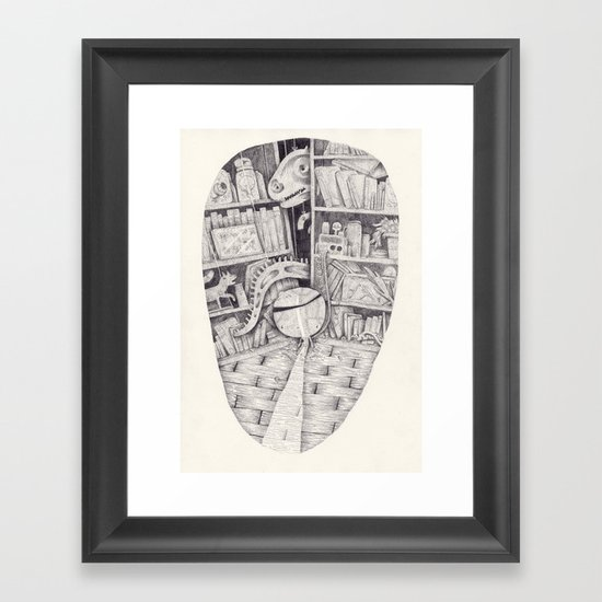 Angine Framed Art Print