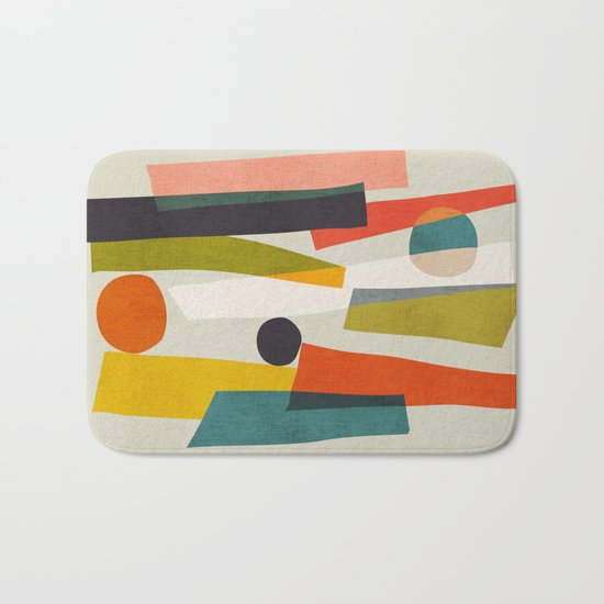 Sticks and Stones Bath Mat