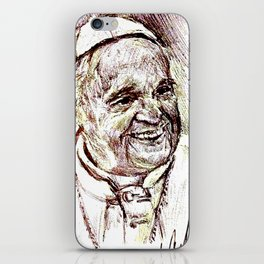 POPE FRANCIS iPhone Skin
