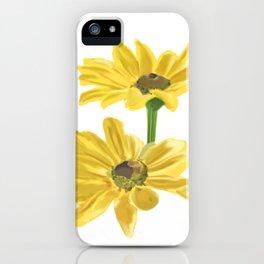 Black-Eyed Susan iPhone Case