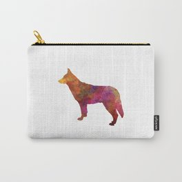Saarloos Wolfdog in watercolor Carry-All Pouch