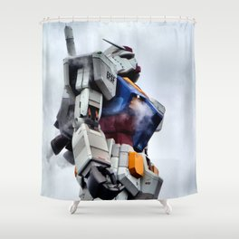 Gundam Pride Shower Curtain