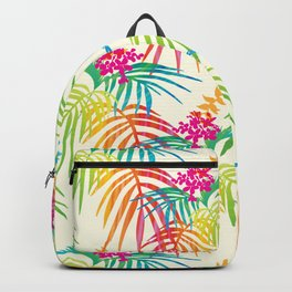 Bright Tropical Backpack