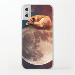 Houston, We Have A Problem! Clear iPhone Case