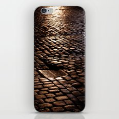 cobbled rain II. iPhone & iPod Skin