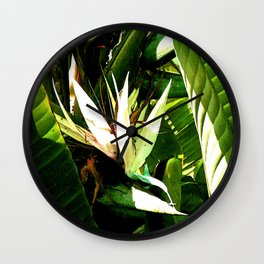 """Wild Bananas"" by ICA PAVON Wall Clock"