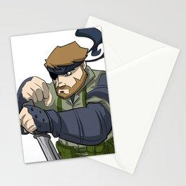 Naked Snake Stationery Cards
