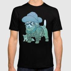 Kurt Russell Terrier - R.J. MacReady Mens Fitted Tee SMALL Black