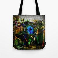 ukraine Tote Bags featuring UKRAINE by lucborell