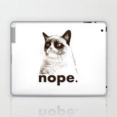 GRUMPY CAT - Nope (version 2) Laptop & iPad Skin