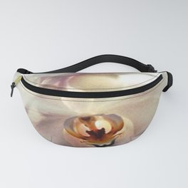 White Orchids Fanny Pack