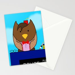 11th Owl - Doctor Who Stationery Cards