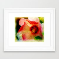 hibiscus Framed Art Prints featuring Hibiscus by Christine Belanger