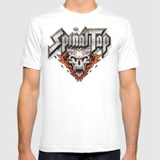 Spinal Tap White Mens Fitted Tee LARGE