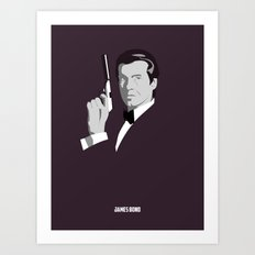 James Bond - Pierce Brosnan Art Print