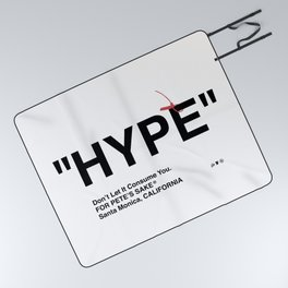 """""""HYPE"""" Picnic Blanket"""