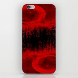 RED MOON FOREST iPhone Skin