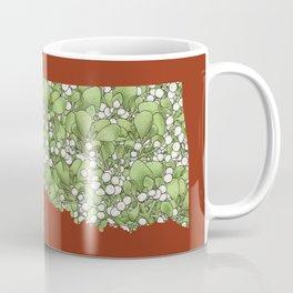 Oklahoma in Flowers Coffee Mug