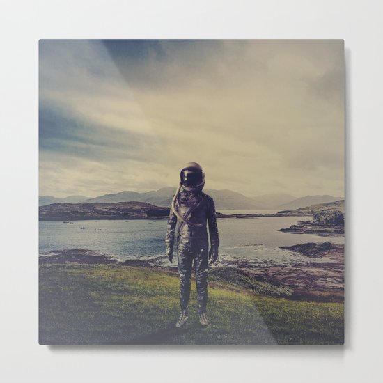 An Element of Realism Metal Print
