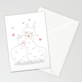 Lama Love Stationery Cards