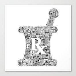 Pharmacy, pharmacy sign, medical, medicine, doctor gift: PANACEA Canvas Print