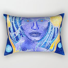 Angeonilium V4 - frozen beauty Rectangular Pillow