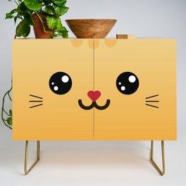 Children imaginary furry friend GINO THE CAT (Chibi Palz cute companion) Credenza