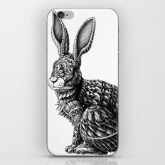 Ornate Rabbit iPhone Skin