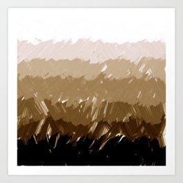 Shades of Sepia Art Print