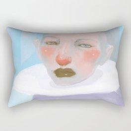Unidentified Humans VI Rectangular Pillow