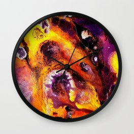 Aurevoir Merci Wall Clock