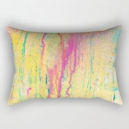 DRIPPING COLORS Rectangular Pillow