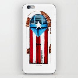 Puerta Bandera iPhone Skin