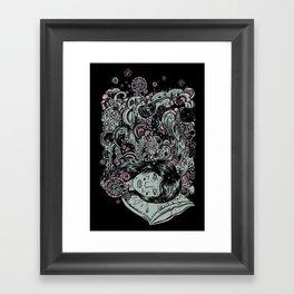 Irregular Sleeping Pattern Framed Art Print