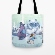 The Monstrous Mountains Tote Bag
