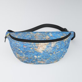 Textures in Blue Fanny Pack