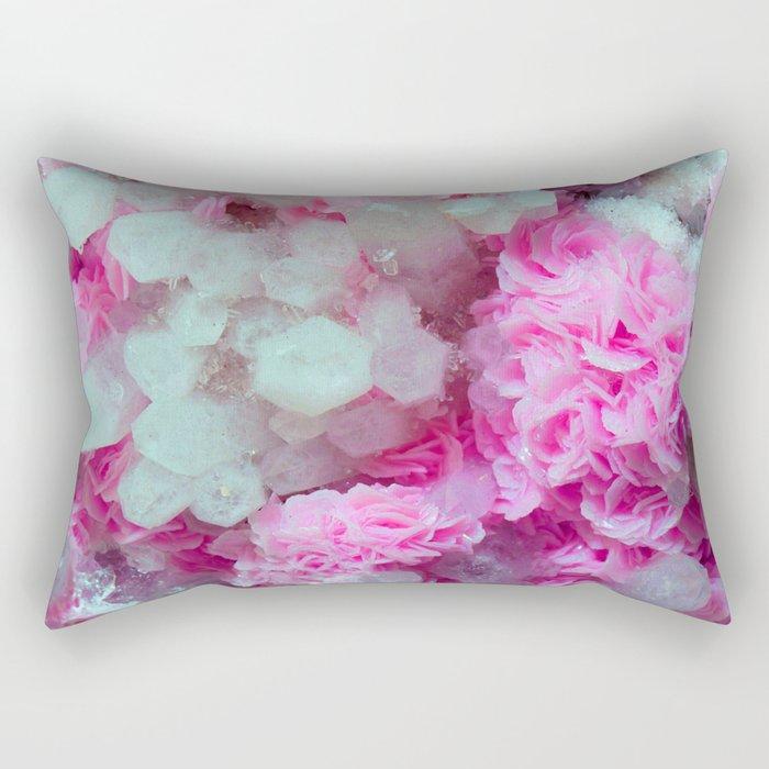 Desert Love Rose | Merry Crystals Rectangular Pillow