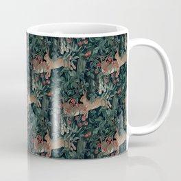 Bunny medieval tapestry Coffee Mug