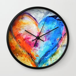 The Patience of Love Wall Clock