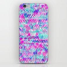 Fervor (Turquoise)  iPhone & iPod Skin