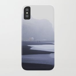 Black Sand Beach of Vik iPhone Case