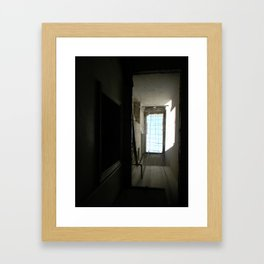Looking Up, Laundry Room of My Grandparents' House (Syria 2010) Framed Art Print