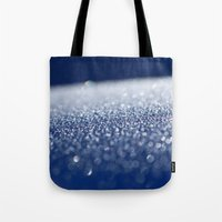 ice Tote Bags featuring ICE by Lori Anne Photography
