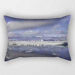Glacial Lagoon 05 Rectangular Pillow