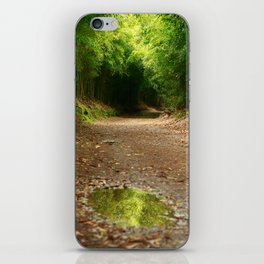Puddle of water iPhone Skin